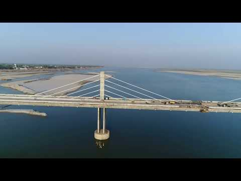 INDIA'S MOST BEAUTIFUL CABLE STAYED BRIDGE IN BIHAR, MAKING COST OF IT 130 MILLION U.S $ DOLLAR