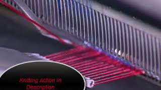 Knitting Action of Crochet Knitting Machine