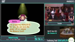 Awesome Games Done Quick 2015 - Part 132 - Animal Crossing by Forstride