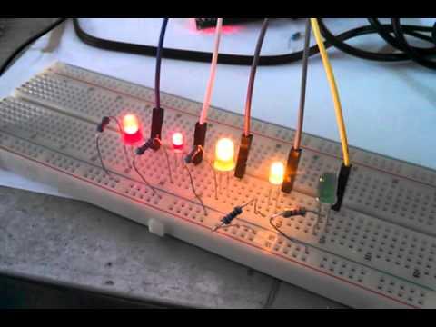 область, сделай сам светофор светодиоды пропадания сети напряжения