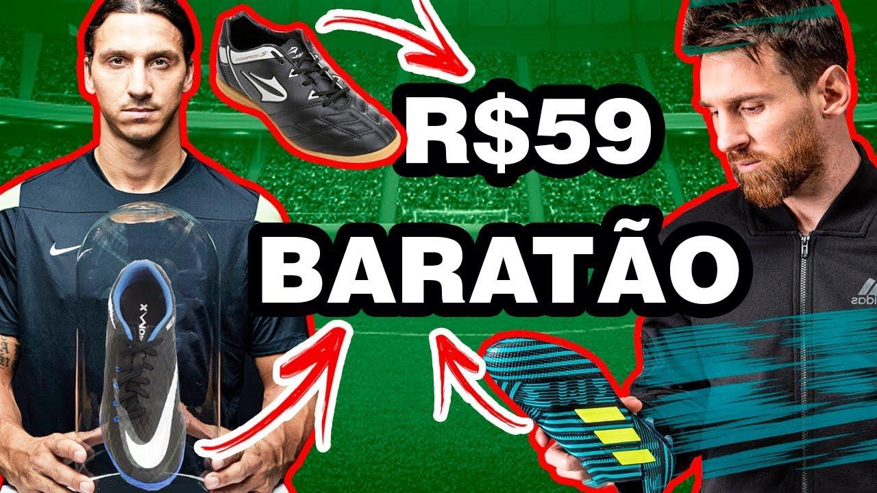 52b2773866501 MELHORES CHUTEIRAS PRA DAR NO NATAL - NIKE E ADIDAS BARATAS - YouTube