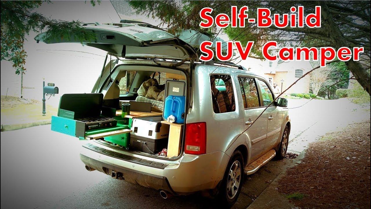 Honda Pilot Build >> My Self Build Suv Camper Conversion Youtube
