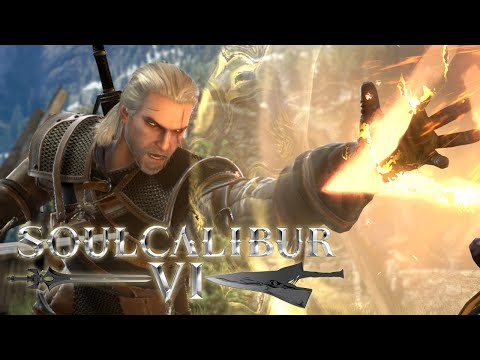 SoulCalibur VI - Geralt of Rivia Gameplay Reveal Trailer