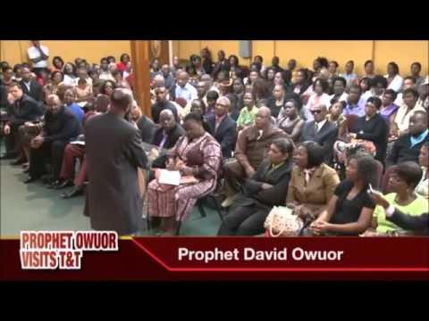 DEUS QUER SEPARAÇÃO MESMO DENTRO DA IGREJA!!! Profeta David Owuor