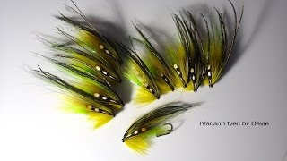 Tying The Olive Phantom Salmon Fly (Variant) by Davie McPhail
