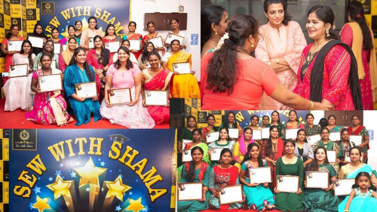 Graduation Day of Sew with Shama (Institute  of Fashion Designing)