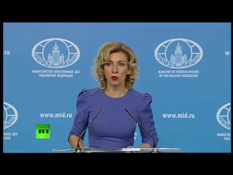 Russian FM spokesperson Zakharova holds weekly briefing (Str