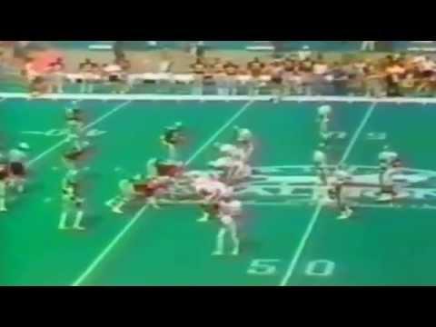 1984 - USFL Divisional Playoffs Tampa Bay Bandits vs Birmingham Stallions