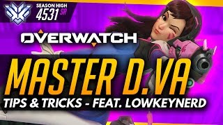 Overwatch | Master Dva (Advanced Guide) ft LowKeyNerd