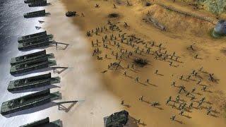 самая Масштабная Экранизация Битвы Высадка в Нормандии ( День Д ) в играх! Order of War