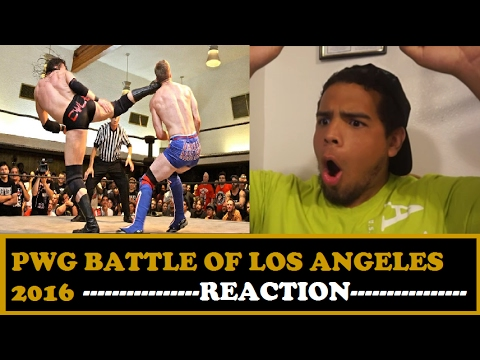 PWG - Preview - 2016 Battle of Los Angeles  Stage Two REACTION