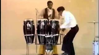 Sammy Davis Jr. Tap dancing with drums & percussion