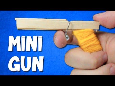 How to Make a Mini Gun