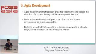 Lightning Talks: Best practices in Backend Development - Jayanth Chandra - FOSSASIA Summit 2017