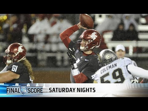Washington State's Luke Falk sets two Pac-12 records as Cougs down Colorado