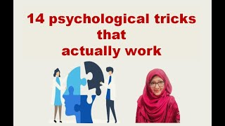 14 psychological tricks tнat actually work