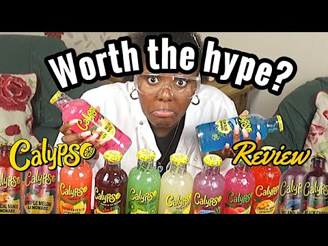 I Reviewed Every Calypso Drink Flavour...