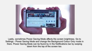 How to Stop Screen Going Bright or Dim When in Browser On HTC ONE Max