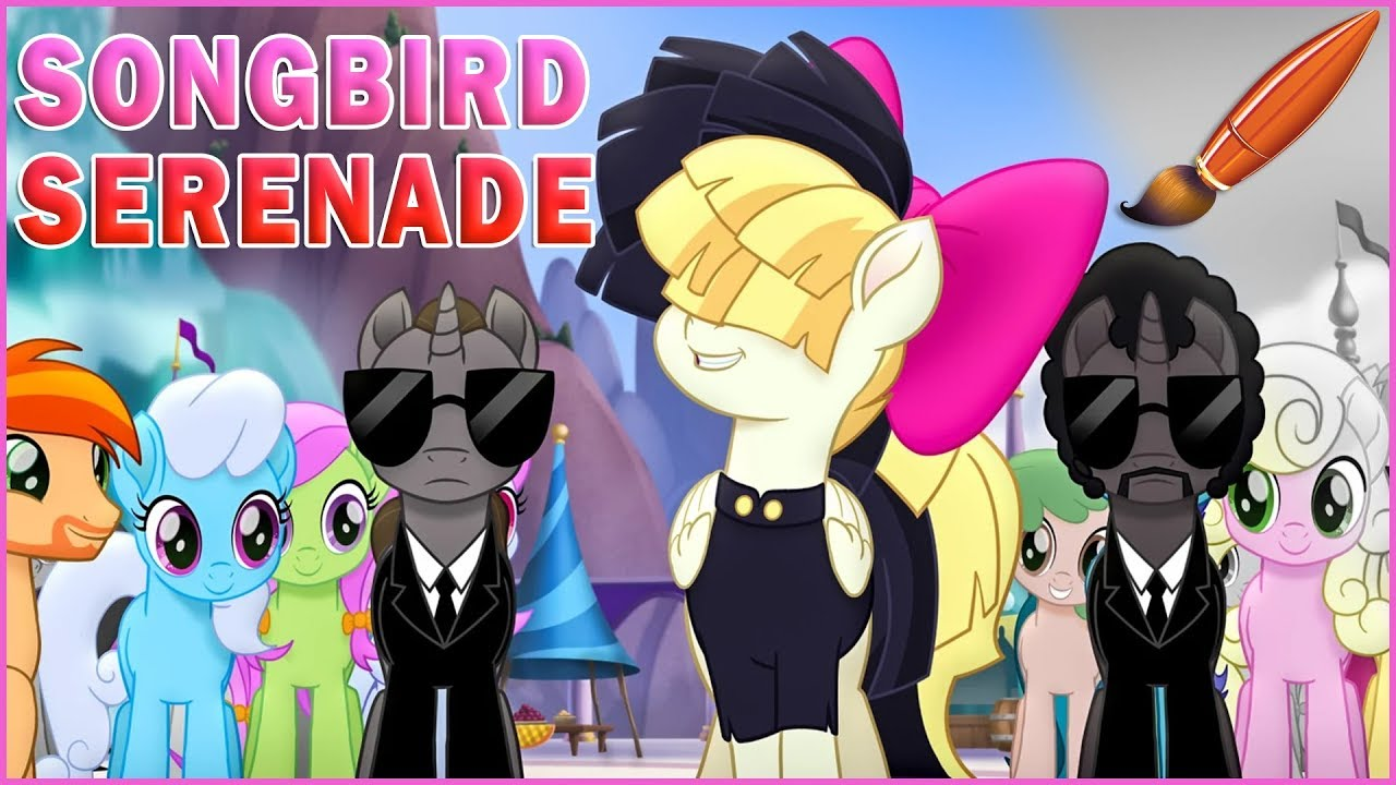 Coloring Songbird Serenade My Little Pony The Movie 2017 Kids