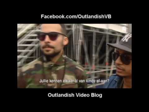 Outlandish-Live Performance, Interview at Rotterdam Unlimited