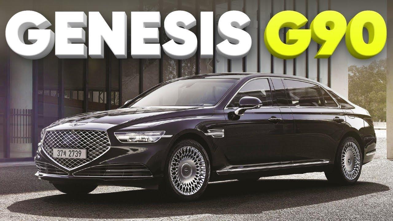 Бэнтли из Кореи / Новый Genesis G90 2019 / Большой Тест Драйв