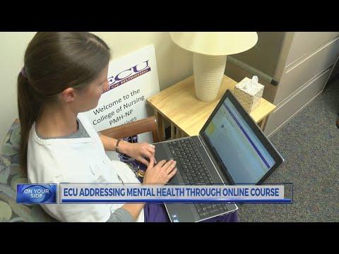ECU Addressing Mental Health Through Online Course