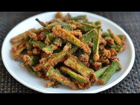बेसन वाली भिंडी बनाने की विधि | Besan Bhindi Masala Recipe | भिंडी प्याज बेसन की सूखी सब्जी