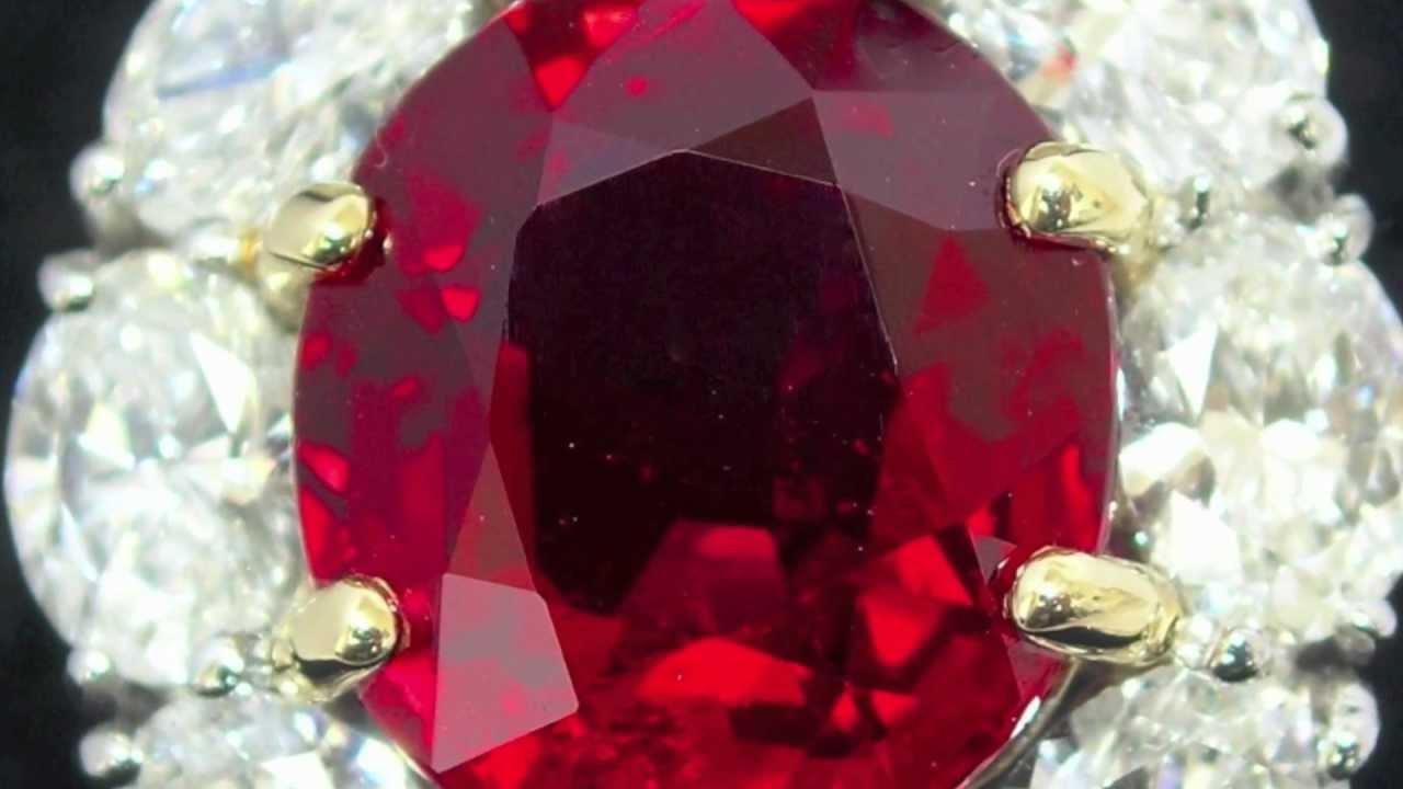 Important Kashmir Sapphire Burma Ruby Amp Colombian Emerald