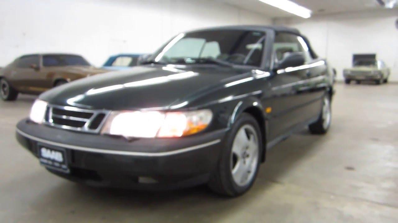 Saab 1997 saab 900 : 1997 SAAB 900 SE CONVERTIBLE ** FOR SALE !! - YouTube