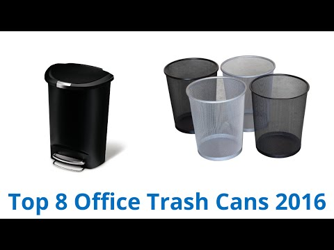 8 Best Office Trash Cans 2016
