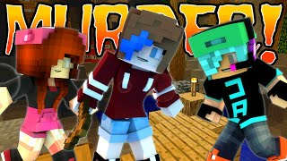 MINECRAFT MURDER | DOLLASTIC PLAYS, GAMER CHAD & RADIOJH GAMES