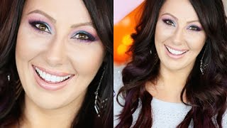 Colorful Party Makeup with Urban Decay Electric Palette | Makeup Geek