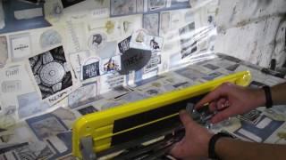Обзор ручного плиткореза. Сталь ТС - 400.