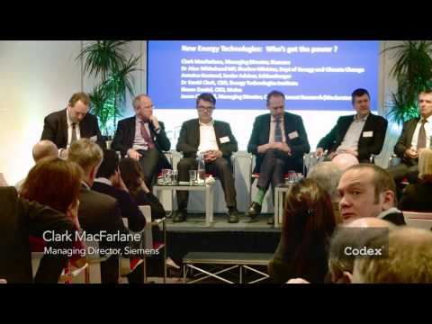 New Energy Technologies Panel Discussion
