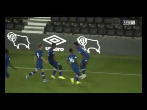 18 year-old Michael Lavinier scores an 85th minute winner for the Chelsea Development Squad, as the defeat last year's Premier League 2 champions, Derby County.