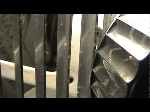 How powerful this Leigh bathroom exhaust fan is... - YouTube