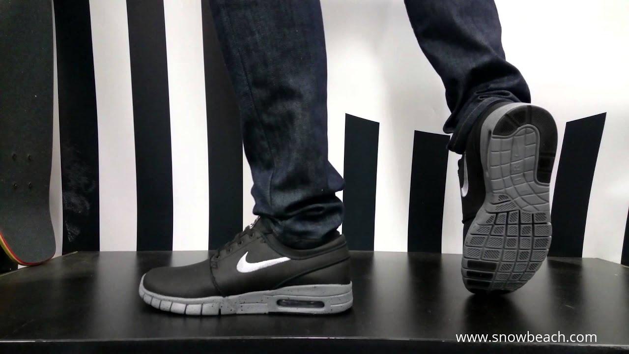 gorące wyprzedaże świetne oferty znana marka NIKE SB STEFAN JANOSKI MAX L QS NYC black metalic cool grey cool grey  749678 001