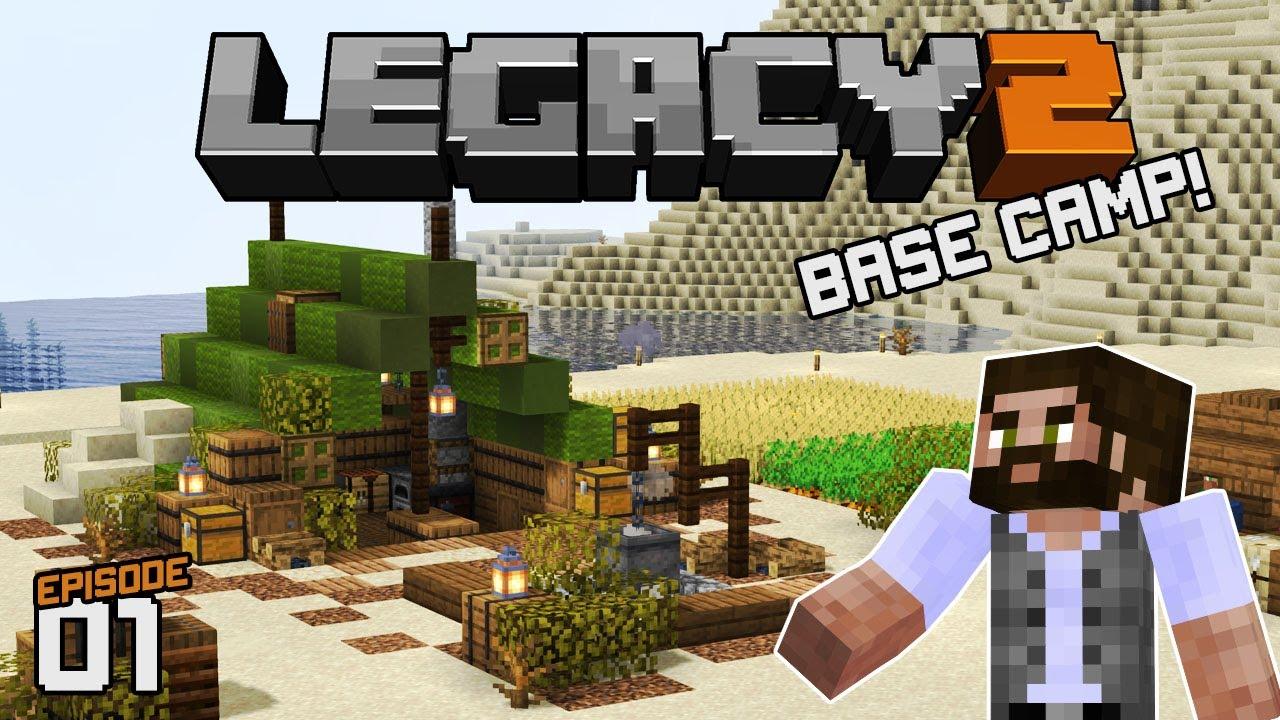 Starter Base!| Legacy SMP Season 2 [01] | Java Minecraft SMP