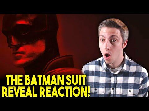 The Batman Suit Reveal Reaction! (Robert Pattinson Camera Test)