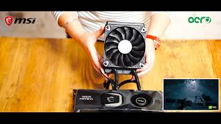 MSI GeForce RTX 2080 Ti SEA HAWK X