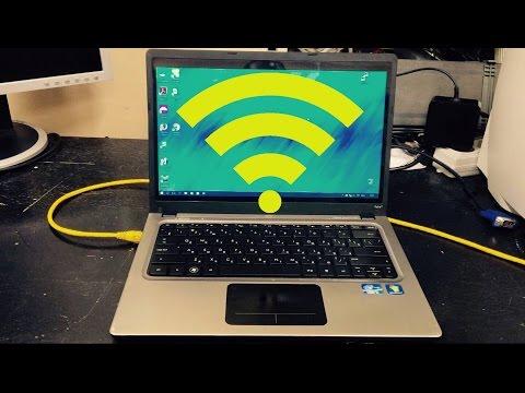 Как раздавать интернет  через Wi-Fi на ноутбуке или ПК.  Два способа