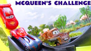 cars neon racers play doh frozen olaf peppa pig lightning mcqueen races spider man cars 2 story