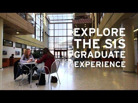 The SIS Graduate Experience