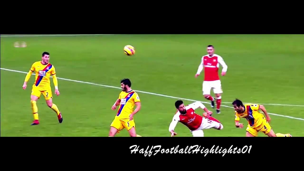 Download Olivier Giroud Incredible Scorpion Kick Goal vs Crystal Palace 1080i HD (01/01/2016)