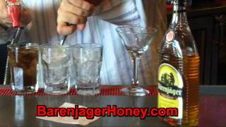 Barenjager Honey & Bourbon New Cocktail Recipes