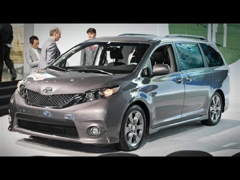 2018 2019 Toyota Sienna Hybrid Concept Review And Fuel Economy You