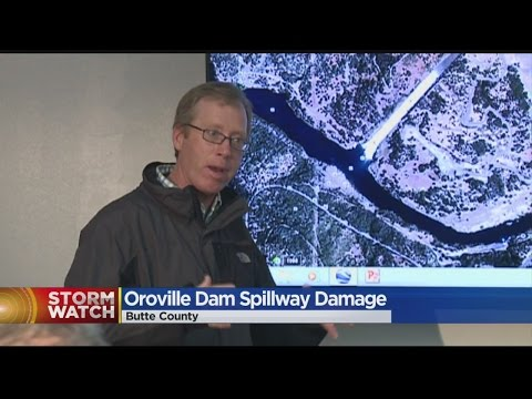 Oroville Dam Spillway Damage Grows As Lake Oroville Continues To Fill