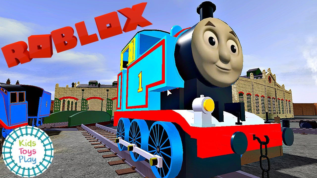 ROBLOX Thomas the Train Crashes and Accidents | Funny Gameplay Adventures