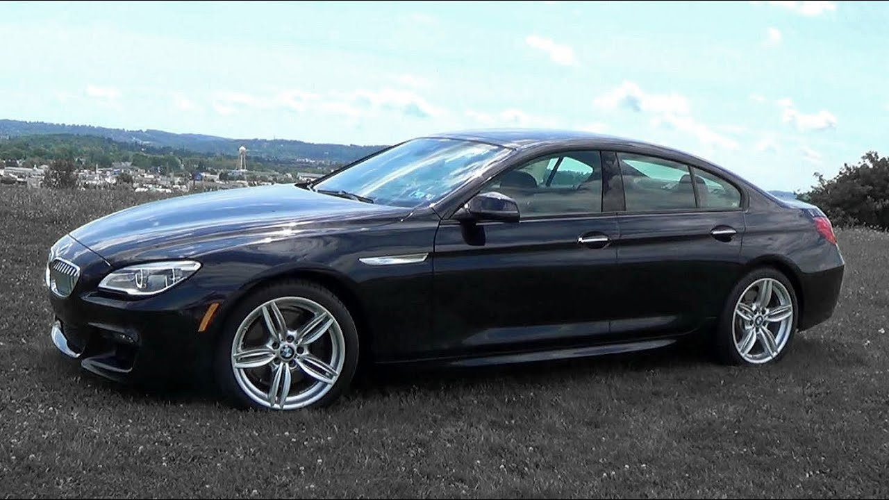 Bmw Gran Coupe 6 2016 Bmw 6 Series Gran Coupe Review