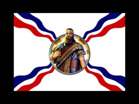 Civilization 5 Ashurbanipal Peace Music - Ancient Assyrian Chant